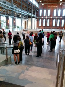 Participants tour the African American Heritage Center and learn about the facility's past, present and bright future.