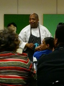 """Chef Jackson talks about his work bringing fresh food and farmer's markets to urban """"food deserts."""""""