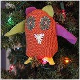 JudyGeagley owl ornament