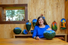 Artist Award winner Linda Pigman Fifield - Photo by Marvin Young