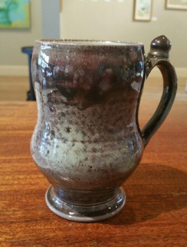 Mug by Seth Green, from the collection of Fiscal Manager Sandie Etherington